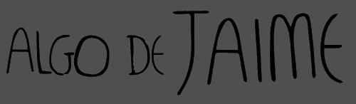 Logotipo marca Algo de Jaime